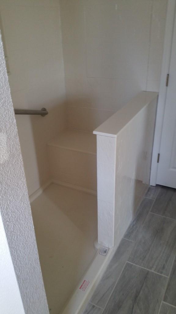 Bathroom Remodel Walk In Shower Onyx Installer