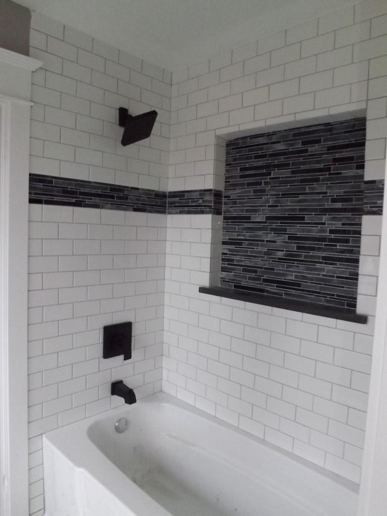 Bathroom remodel   shower tile job. Remodeling Contractor   Licensed Remodeling for Northwest Arkansas