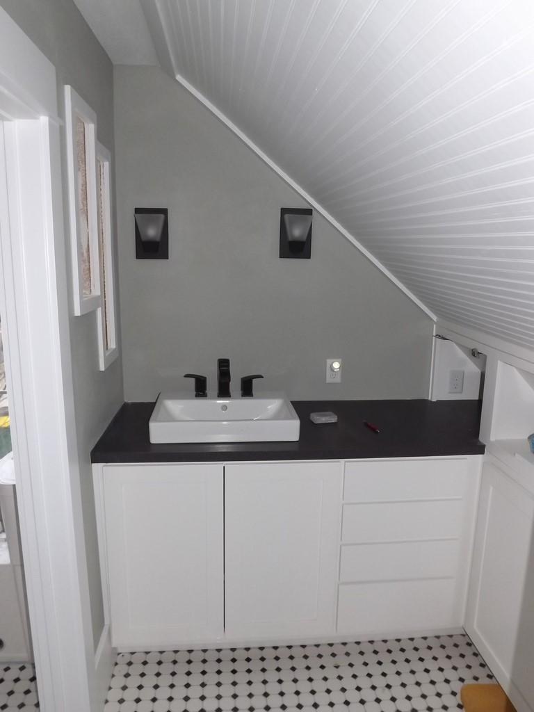 Bathroom Remodel Job Fayetteville